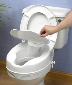 Elevador WC Altura 10cm con Tapa